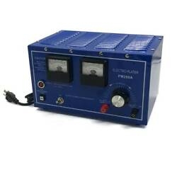 Platinum Silver Gold Plating Machine 30a Jewelry Plater Electroplating Rectifier