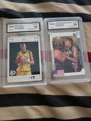 Kevin Durant Rookies Gma 10 Set Of 4 Cards