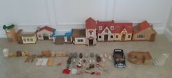 Ultimate Calico Critters Sylvanian Families W/ Furniture And Accessories House Car