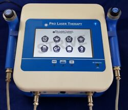 Cold Laser Therapy Machine 2 Probes Red Laser Ir Pre-programs With Touch Screen
