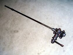 Thirties Ford Truck Steering Column Shaft And Gear Box 48-3550