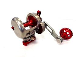 Seigler Sg Small Game Game Lever Drag Reel - Left Handed - Red - New