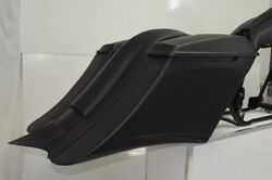 Harley Davidson 7 Stretched Saddlebags And Rear Fender For Touring 1996/2013