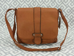 Scarleton Los Angeles Crossbody Bag Ultra Soft Vegan Leather Messenger Purse Nwt $29.99