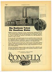 1923 Connelly Boiler Co Ad Morgan And Wright Us Tire Plant Detroit Mi Power Plant