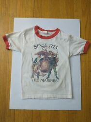 Spruce Mayo The Marines Since 1775 T-shirt 1960-1970and039s