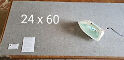 Huge Wool Pressing Mat - Large Size 24 X 60 X 1/2 Inch