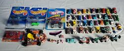 Vintage Micro Machines Mini, Hot Wheels, Imperial - Die-cast Lot Of Toy Cars