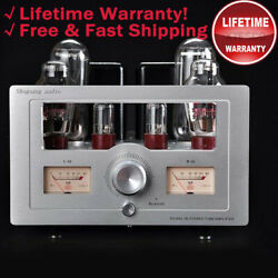 Sg-845-7 Stereo Tube Amplifier Tube Amp Without Bluetooth Rated 21w+21w Fidelity