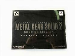 Metal Gear Solid 2 Sons Of Liberty Premium Package Limited Edition Ntsc Japan 1