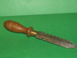 Antique Wood Handle Saw Set Wrest Hand Forged Sharpening Tool Rare Tool