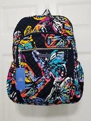 Vera Bradley Campus Backpack Butterfly Flutter NWT $75.00