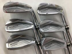 Maruman Majesty Conquest Forged 2021 6pc Nspro Zelos R-flex Irons Set Golf