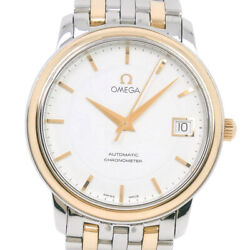 Omega 168.1050 Cal.1120 Prestige Watches Gold/silver Stainless Steel Mens ...