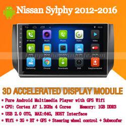 Car Stereo For Nissan Sylphy 2012-2016 Auto Radio Dvd Gps Navigation Wifi Bt