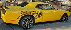 Custom Decals Graphics For Challenger Or Charger Huge Angry Bee Wasp Scat Pack