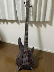 Ibanez Srms805 Dtw Deep Twilight 5 String Electric Bass Guitar Japan Shipped