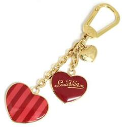 Louis Vuitton Keychain Heart Charm Limited F/s Japan