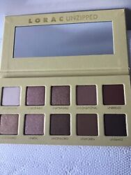 Lorac Unzipped Shimmer And Matte Eyeshadow Only Palette W New