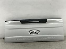 2017-2019 Ford F250 F350 Tailgate Trunk Lid W/ Step Camera Oxford White Z1