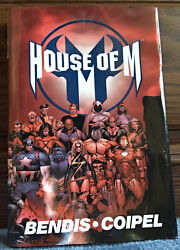 House Of M Omnibus Hc Hardcover Oop And Htf Marvel Comics Wandavision. A4