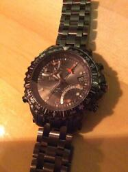 Timex T3c325 Water Resistant Stainless Steel Analog Wrist Watch Japan Shipped