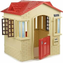 Little Tikes Cape Cottage Playhouse With Working Doors Windows And Shutters