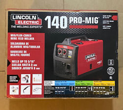 New Lincoln Electric 140 Pro-mig Mig/flux Corded Wire Feed Welder, K2480-1 Nib
