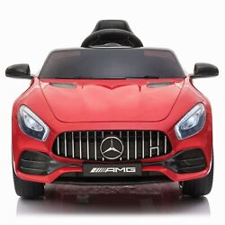 12v Electric Kids Ride On Car Toy -mercedes Benz Gt- Licensed Mp3 Remote Control