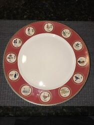 Williams Sonoma 12 Twelve Days Of Christmas Dinner Plates. 12andrdquo. Made In China
