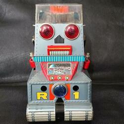 Tin Robot R1 Nomura Toy Vintage Antique Collectible Figure From Import Japan