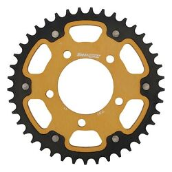 New Supersprox Stealth Sprocket, 41t For Marvic 525 Pitch 5 Bolts 00, Gold