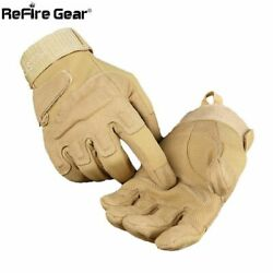 Army Combat Tactical Gloves Military Police Soldiers Full Finger Swat Shoot
