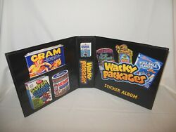 Custom Made Wacky Packages 2 Inch Trading Card Collectors Binder