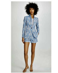 Alice + Olivia Macey Floral Jacket. Nwt. Size 4. Retail- 500