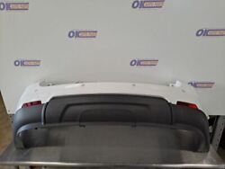 16-17 Chevy Equinox Oem Rear Bumper Assembly With Park Assist Sensors White