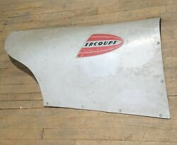Vintage Ercoupe Side Cowl Body Panel Right Rh Aviation Aircraft Replacement Part