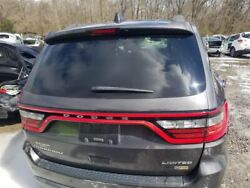14-18 Dodge Durango Oem Hatch Decklid Lift Gate Assembly Painted Gray