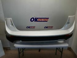 15-19 Lincoln Mkc Oem Rear Bumper Assembly Painted White With Rebar