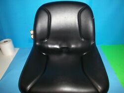 New Black High Back Tractor Seat Fits Craftsman And Many Brands Oem 11a Read