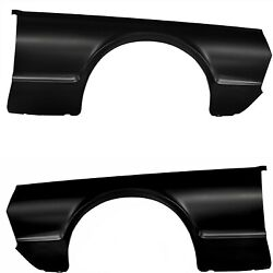 19671968 Cougar Fender Panel No Light Hole Pair Right And Left Side Edp Steel