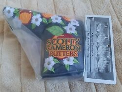 Scotty Cameron 2019 Augusta Sweet Victory Headcover Black Rare Ship From Japan