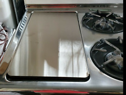 Chambers Range Griddle Cover Vintage C Model Antique B Stove Classic A Stainless
