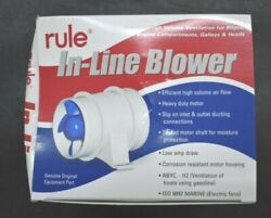 Rule In-line Blower Genuine Oem Part 240 4 12v Boat Blower Abyc Us Coast Guard
