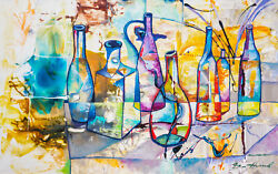 Oil On Canvas 116 X 73 Cm/45.7 X 28.7 In, Oil Paintings, Original Oil Painting