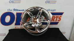 2004-06 Chevy Ssr Oem Rear Chrome Wheel 14p Option With Oem Center Cap 20 Inch