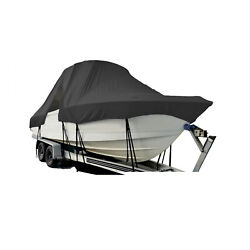 Mako 171 Center Console T-top Hard-top Fishing Boat Storage Cover Black