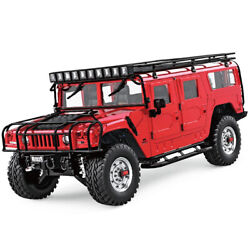 Rc Truck 110 Off Road Humvee 4x4 Monster Hummer H1 Rtr 4wd Jeep 2.4ghz Crawler
