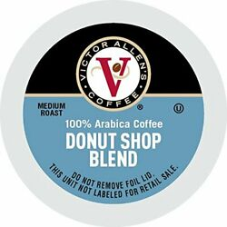 Victor Allen Coffee Donut Single Serve K-cup 200 Count Compatible With 2.0 Ke...