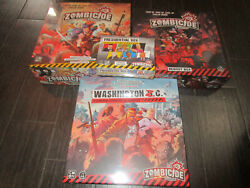 Zombicide 2nd Edition Presidential Pledge Board Game Kickstarter Exclusive Cmon